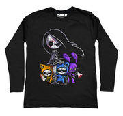 Party Animals Men Long Sleeve Tshirt, Men Shirts, Akumu ink, goth, emo