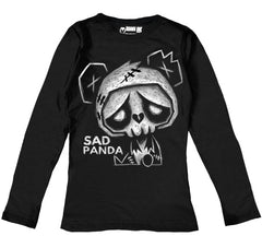 Sad Panda Women Long Sleeve Tshirt