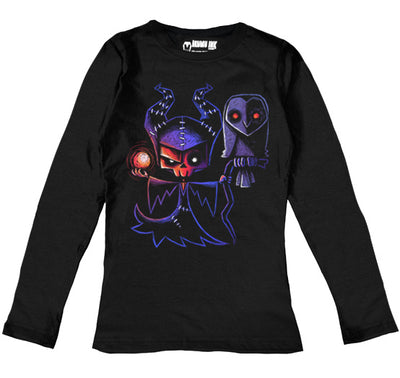 Malicious Intent Women Long Sleeve Tshirt, Women Shirts, Akumu ink, goth, emo