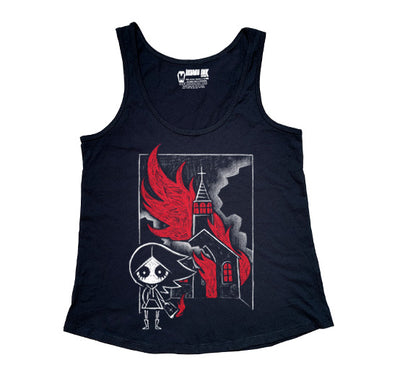 The Prophecy Women Tanktop, Women Shirts, Akumu ink, goth, emo