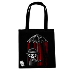 Akumu Ink Internal Storm Tote Bag, bag, Akumu ink, goth, emo