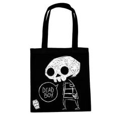 Akumu Ink Dead Boy Tote Bag, bag, Akumu ink, goth, emo