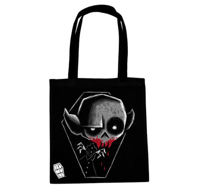 Akumu Ink Blood Thirst Tote Bag, bag, Akumu ink, goth, emo