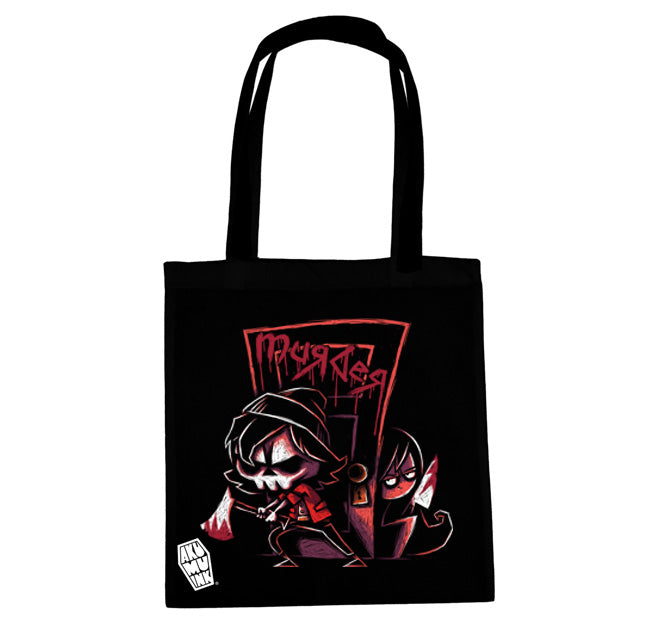 Akumu Ink No Sudden Moves Tote Bag, bag, Akumu ink, goth, emo