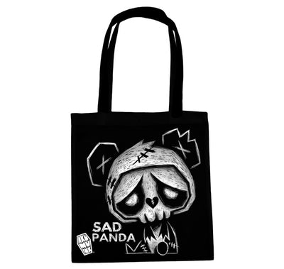 Akumu Ink Sad Panda Tote Bag