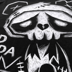Akumu Ink Sad Panda Men Tshirt, Men Shirts, Akumu ink, goth, emo