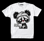 Sad Panda Men White Tshirt, Men Shirts, Akumu ink, goth, emo