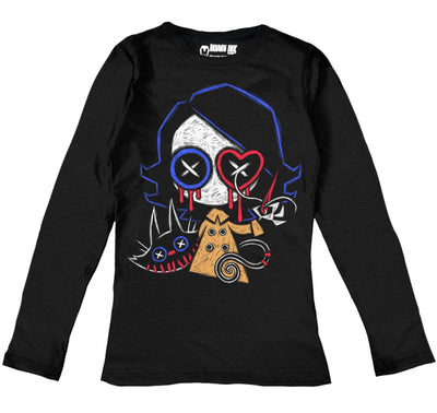 Akumu Ink Ready to Play Women Long Sleeve Tshirt