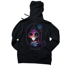 Akumu Ink® Glimmer of Light Unisex FLEECE Hoodie, long sleeve, Akumu ink, goth, emo
