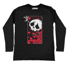 Smothered Men Long Sleeve Tshirt, Men Shirts, Akumu ink, goth, emo