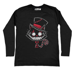 Psychotic Delight Men Long Sleeve Tshirt, Men Shirts, Akumu ink, goth, emo