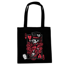 Akumu Ink The Upside Down: Queen Tote Bag, bag, Akumu ink, goth, emo