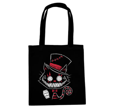 Akumu Ink Psychotic Delight Tote Bag, bag, Akumu ink, goth, emo