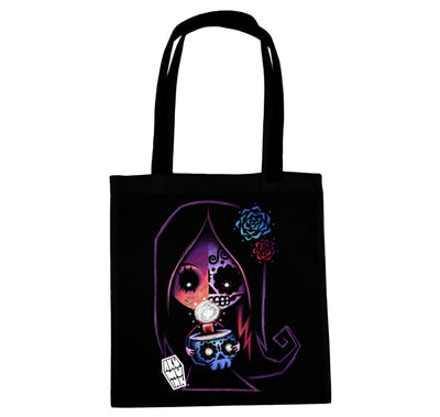 Akumu Ink® Glimmer of Light Tote Bag, bag, Akumu ink, goth, emo
