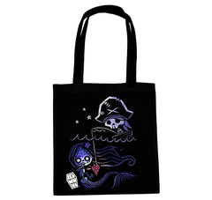 Akumu Ink® Waiting for Eternity Tote Bag, bag, Akumu ink, goth, emo