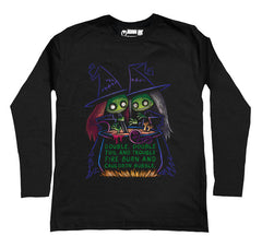 Toil and Trouble Men Long Sleeve Tshirt