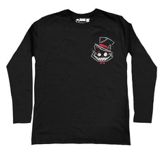 Akumu Ink® Psychotic Delight Logo Men Long Sleeve Tshirt