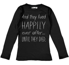 Until They Died Women Long Sleeve Tshirt