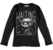 Waiting Women Long Sleeve Tshirt