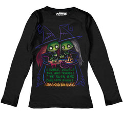 Toil and Trouble Women Long Sleeve Tshirt