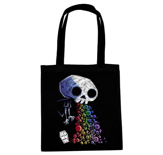 Poison Candy Tote Bag