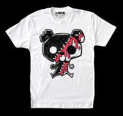 Akumu Ink My Bloody Bear Men White Tshirt