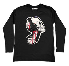 Tone Death Men Long Sleeve Tshirt, Men Shirts, Akumu ink, goth, emo