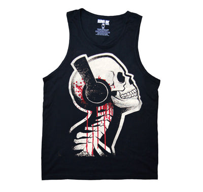 Akumu Ink Tone Death Men Tank, Men Shirts, Akumu ink, goth, emo
