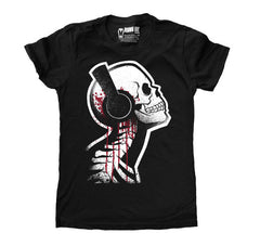 Akumu Ink Tone Death Women Tshirt, Women Shirts, Akumu ink, goth, emo