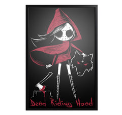 Akumu Ink Dead Riding Hood Artwork, art, Akumu ink, goth, emo
