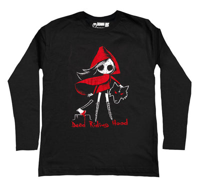 Dead Riding Hood Men Long Sleeve Tshirt