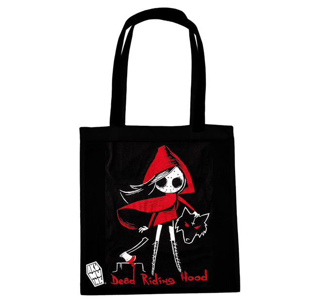 Akumu Ink Dead Riding Hood Tote Bag, bag, Akumu ink, goth, emo