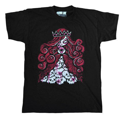 Akumu Ink Queen of Bleeding Hearts Men Tshirt, Men Shirts, Akumu ink, goth, emo