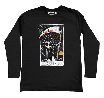 The Death Card Men Long Sleeve Tshirt