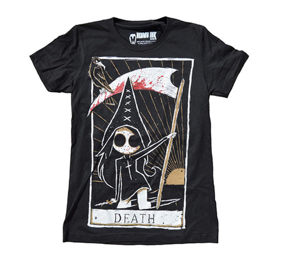 death card tshirt, death tarot card shirt, death scythe tshirt