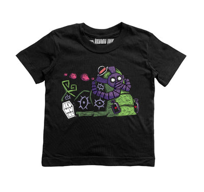 Caterpillar Kids Tee, tshirt, Akumu ink, goth, emo