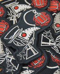 Akumu Ink Plague Seeker Patch, Accessories, Akumu ink, goth, emo