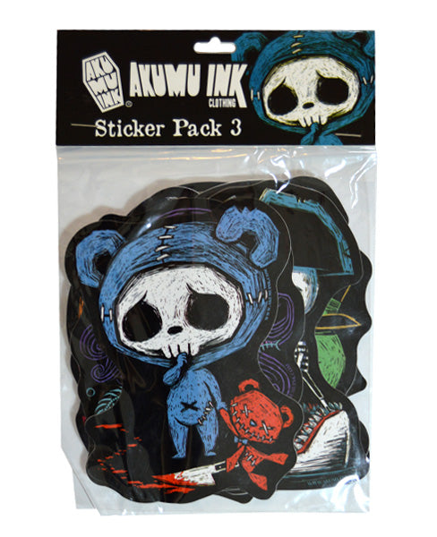 Akumu Ink Sticker Pack 3