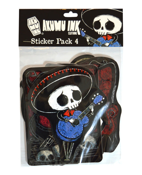 Akumu Ink Sticker Pack 4