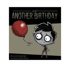 Just Another Birthday E-BOOK, art, Akumu ink, goth, emo