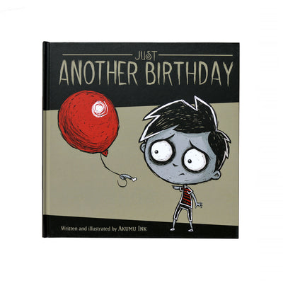Just Another Birthday Storybook, art, Akumu ink, goth, emo