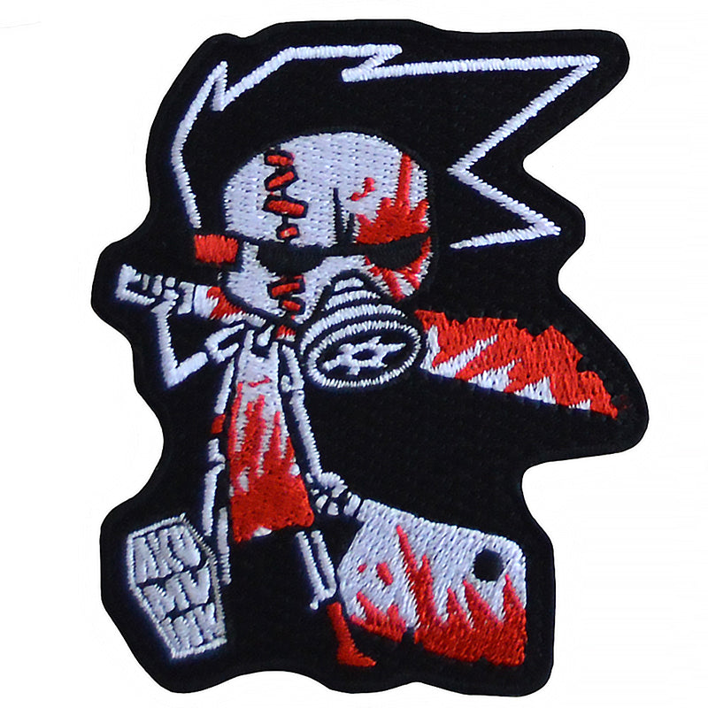 Akumu Ink Butcher III Patch, Accessories, Akumu ink, goth, emo