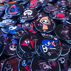 Mystery Pin Pack, Accessories, Akumu ink, goth, emo