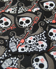 Akumu Ink Infernal River Patch, Accessories, Akumu ink, goth, emo