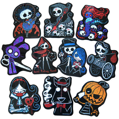 Cursed & Unloved Sticker Pack, Accessories, Akumu ink, goth, emo