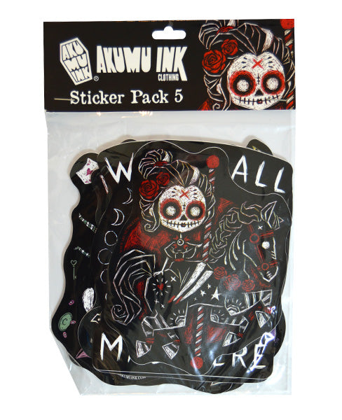 Akumu Ink Sticker Pack 5