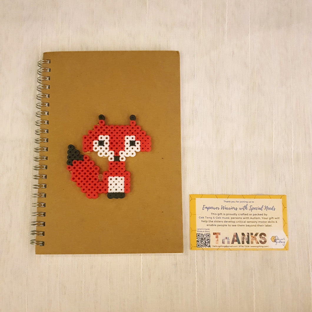 Hama Beads Schedule Notebook with Pen