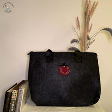 Load image into Gallery viewer, Felt Laptop Bag with Iron-on Patch - C