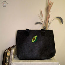 Load image into Gallery viewer, Felt Laptop Bag with Iron-on Patch - B