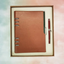 Load image into Gallery viewer, PU Leather Journal with Pen